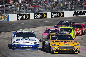 NASCAR Sprint Cup Breaking news NASCAR penalizes Ambrose and Mears for Richmond fight