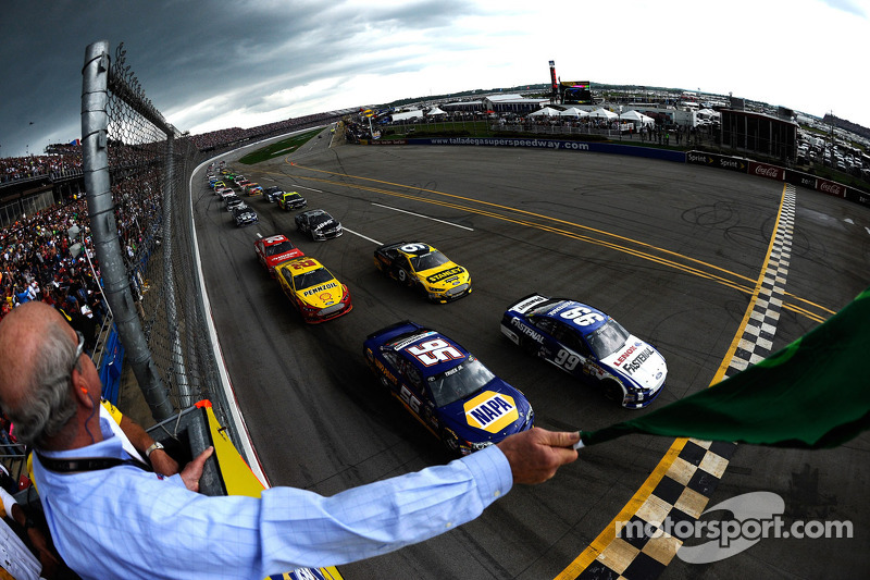 It's 'Anything Can Happen Sunday' at Talladega