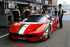 WEC Qualifying report Ferrari takes two poles in GTE qualifying at Spa