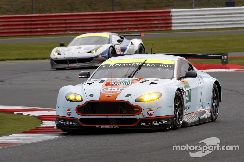 Aston Martin qualifies second in the Six Hours of Spa