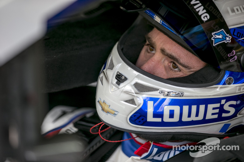 Jimmie Johnson sends firm message despite being winless