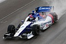 Russia's Mikhail Aleshin likes racing in the United States