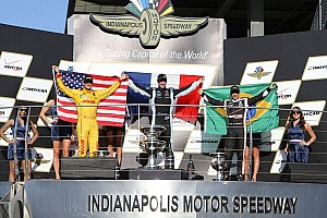 IndyCar Race report Pagenaud wins inaugural Grand Prix of Indianapolis