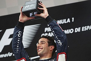 Podium for Renault-powered Infiniti Red Bull Racing