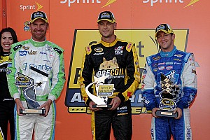 NASCAR Sprint Cup Race report Josh Wise steals the Showdown