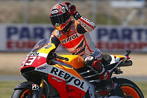 MotoGP Race report Marquez maintains unbeaten season record with solid victory in Le Mans
