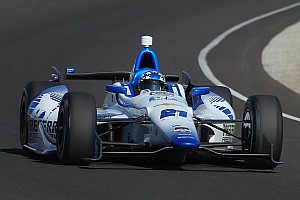 J.R. Hildebrand records 228.776 mph in Fast Nine shootout Sunday