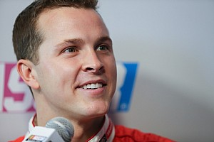 NASCAR Sprint Cup Press conference Trevor Bayne trading in No. 6 Mustang for No. 6 Fusion in 2015