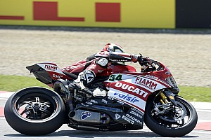 World Superbike Qualifying report Giugliano and the Ducati Superbike team pumped over first season pole