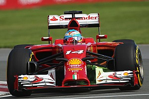 Formula 1 Practice report Alonso paces FP1 in Canada