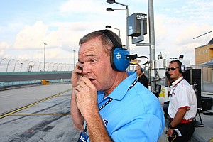 Al Unser, Jr. takes the Indy Charity Legends Pro-Am race