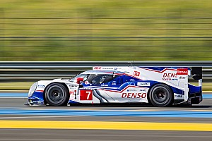 Le Mans Qualifying report Toyota fastest in second qualifying session - No. 1 Audi wrecks again