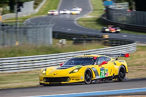 No. 74 Corvette Racing team looks to rebound after tough opening day