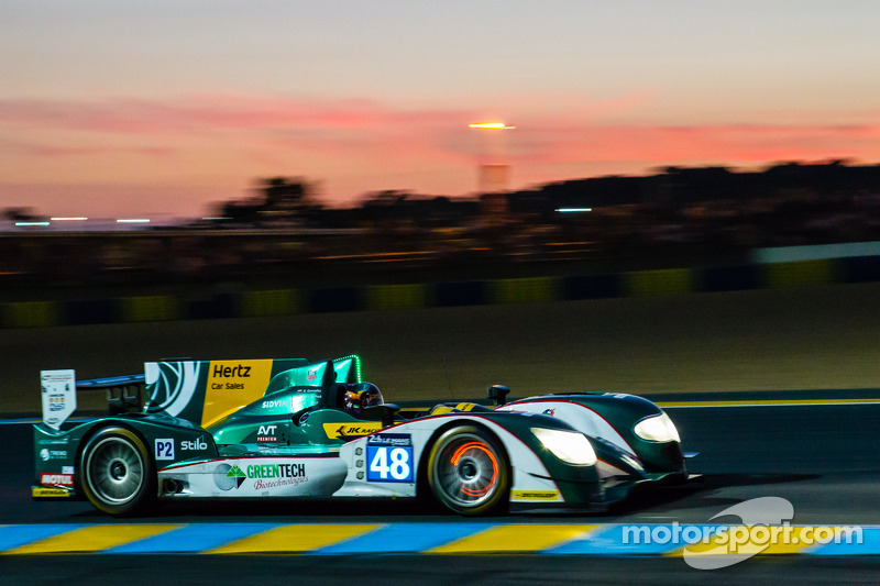 Karun Chandhok and Murphy Prototypes qualify in sixth for the 24 Hours of Le Mans