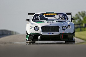 Bentley Motors back on track this weekend with Dyson Racing