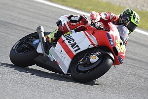 Ducati Team hard at work again in IRTA tests at Montmeló