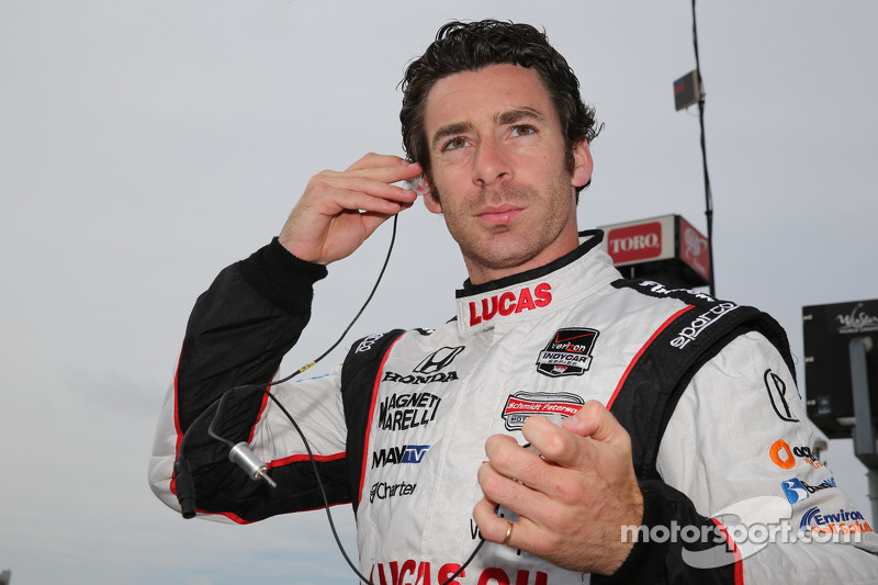 Pagenaud tops IndyCar practice at Houston