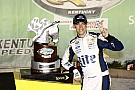 Keselowski won't let injury slow him down
