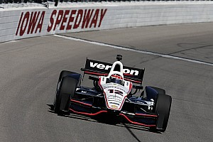 IndyCar Practice report Penske on top during IndyCar practice at Iowa