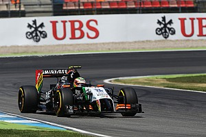 Formula 1 Qualifying report Both Sahara Force India drivers start tomorrow's German GP on top ten