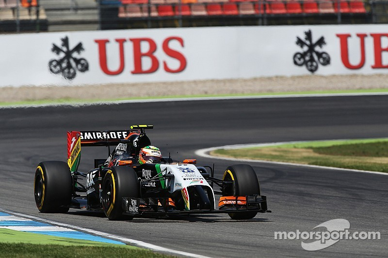 Both Sahara Force India drivers start tomorrow's German GP on top ten
