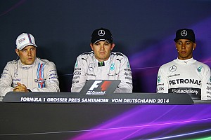 Formula 1 Press conference 2014 German Grand Prix post-race press conference