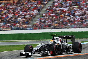 Sauber's Gutiérrez finished the German GP in 14th