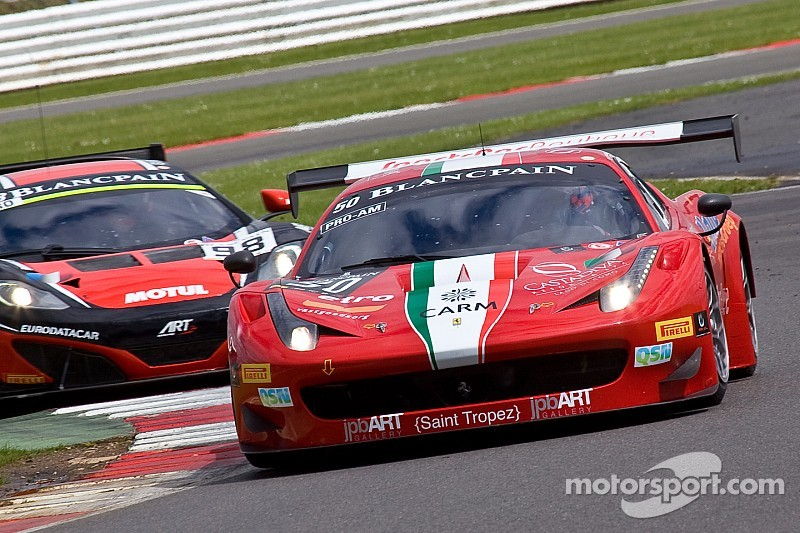 A host of Ferraris in the Spa 24 Hours