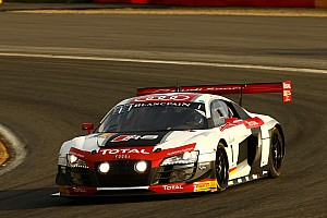 Blancpain Endurance Stage report Audi vs. BMW in the opening hours of the Total 24 Hours of Spa