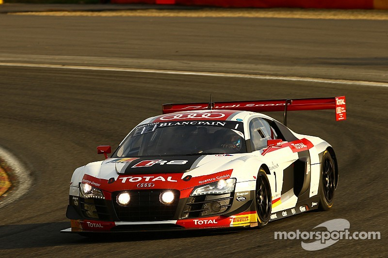 Audi vs. BMW in the opening hours of the Total 24 Hours of Spa