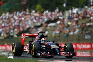 Formula 1 Qualifying report Toro Rosso improves and Vergne will start tomorrow's Hungarian GP from 8th place position