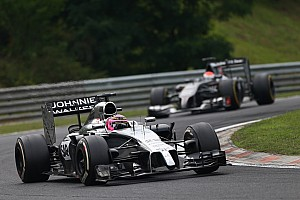 Formula 1 Race report Button scores one point in a not great afternoon for McLaren at Hungaroring