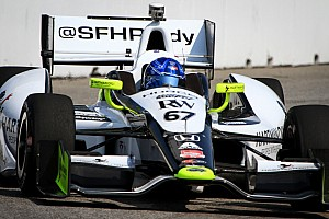Newgarden getting a grip on racing's thrill ride at Mid-Ohio