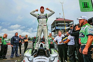 Bourdais claims pole at Mid-Ohio