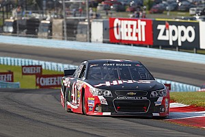 NASCAR Sprint Cup Race report NASCAR notebook: Third-place finisher Kurt Busch enjoyed his front-row seat