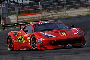 GT Practice report Ferrari on top in practice at Sepang for GT Asia Series
