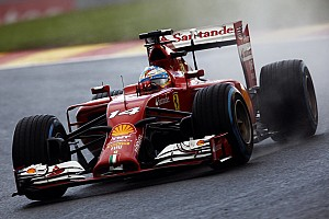 Formula 1 Qualifying report Ferrari on Belgian GP: Wet weather welcome
