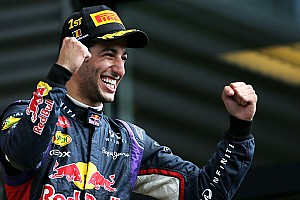 Formula 1 Race report Ricciardo takes a thrilling win at Spa