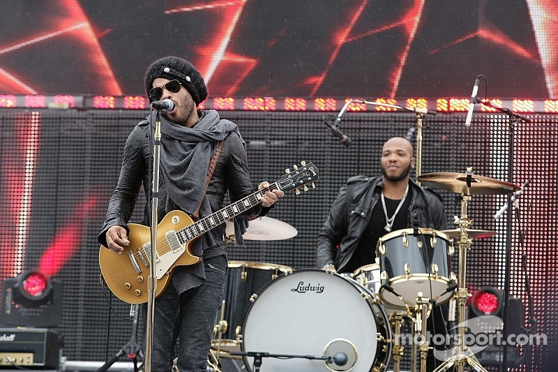 Lenny Kravitz to headline at the 2014 Formula 1 Russian GP concerts