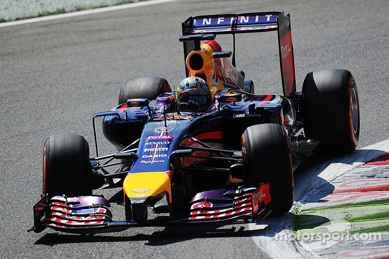 Red Bull is top ten on qualifying for tomorrow's Italian GP