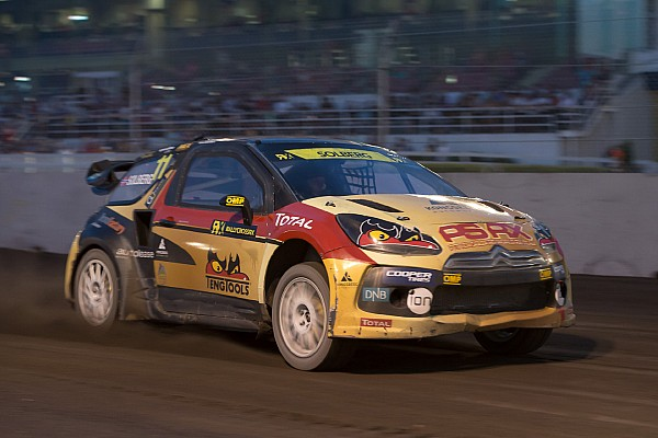 Solberg wins Loheac RX in front of sell-out crowd