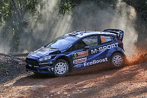 WRC Leg report Solid result in sight for M-Sport Rally Australia