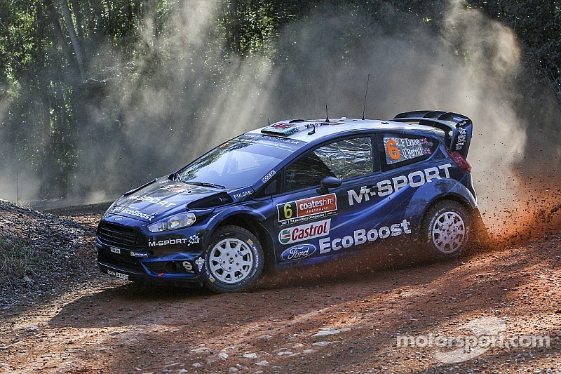 Solid result in sight for M-Sport Rally Australia