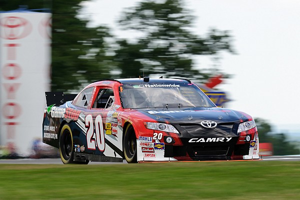 Justin Boston's Nationwide Series coming out party is scheduled for Saturday at Kentucky Speedway