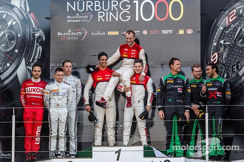 Laurens Vanthoor wins title in Blancpain Endurance Series for Audi