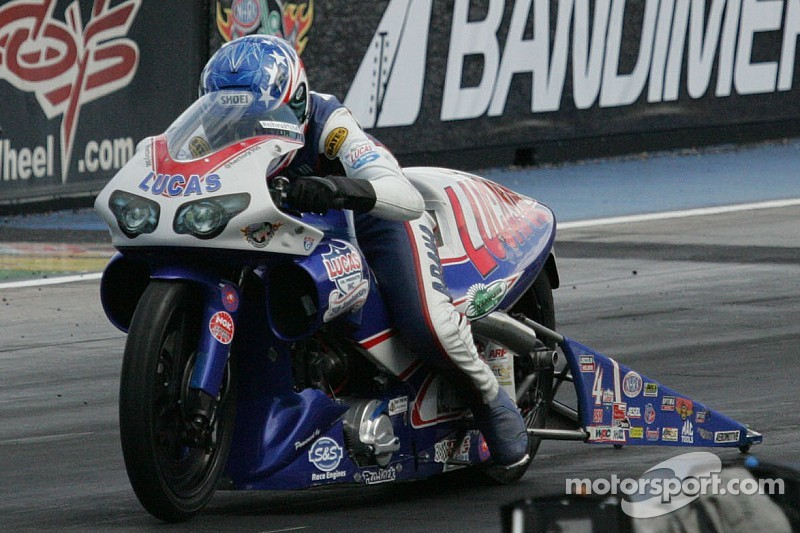 Pro Stock motorcycle's Hector Arana Jr. only focusing on his race program at Midwest Nationals