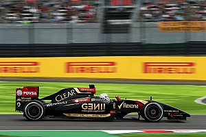 Lotus: An encouraging first day of running for the Japanese GP