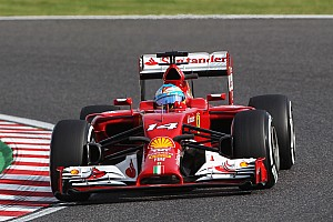 Formula 1 Qualifying report Ferrari at Suzuka: For the sixth time this season Alonso qualified fifth