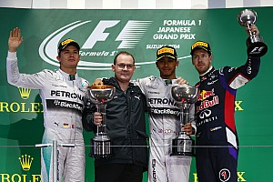 Japanese GP race results: Lewis Hamilton wins in drama