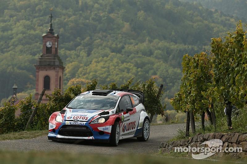 Kubica's impressive drive cut short at Rallye de France